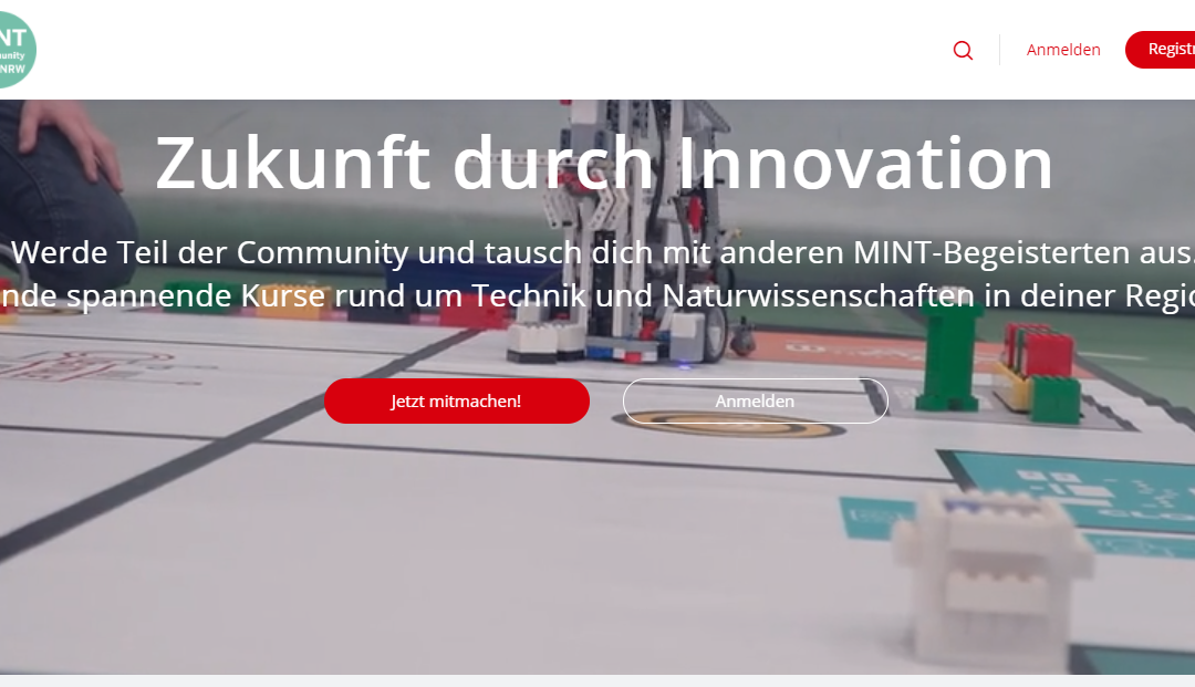 "zdi: Start der Plattform ""MINT-Community NRW"""